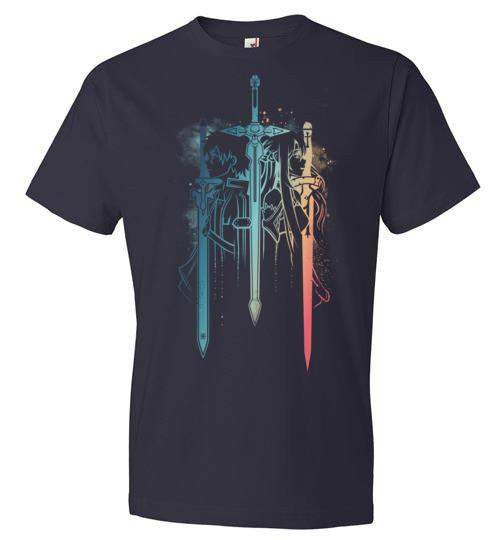 Sword Art Duo-Anime Shirts-Hyperlixir|Threadiverse