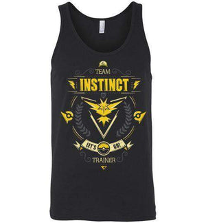 Team Instinct-Gaming Tank Tops-Typhoonic Artwork|Threadiverse