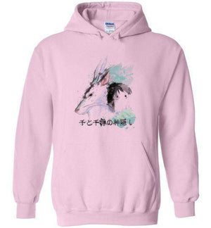 The Dragon And The Girl-Anime Hoodies-Donnie Illustrateur|Threadiverse