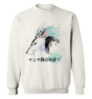 The Dragon And The Girl-Anime Sweatshirts-Donnie Illustrateur|Threadiverse