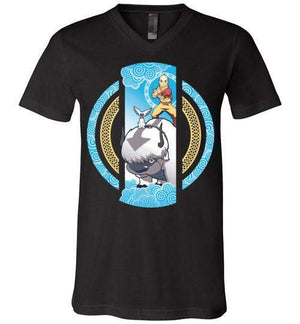 The Element Of Freedom-Animation V-Necks-Kempo24|Threadiverse