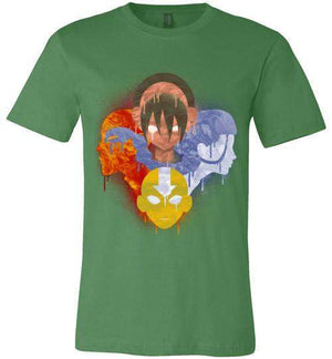 The Four Nations-Animation Shirts-Punksthetic Designs|Threadiverse
