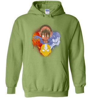 The Four Nations-Animation Hoodies-Punksthetic Designs|Threadiverse