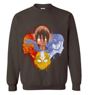 The Four Nations-Animation Sweatshirts-Punksthetic Designs|Threadiverse
