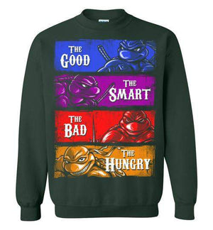 The Four Turtles-Animation Sweatshirts-Punksthetic Designs|Threadiverse