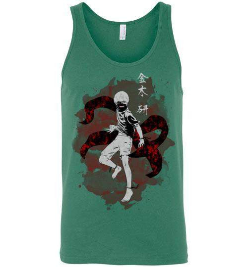 The Ghoul Inside-Anime Tank Tops-Ddjvigo|Threadiverse