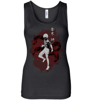 The Ghoul Inside-Anime Women's Tank Tops-Ddjvigo|Threadiverse