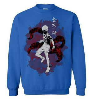 The Ghoul Inside-Anime Sweatshirts-Ddjvigo|Threadiverse