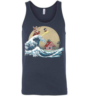 The Great Adventure-Anime Tank Tops-Ddjvigo|Threadiverse