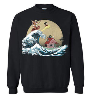 The Great Adventure-Anime Sweatshirts-Ddjvigo|Threadiverse