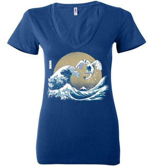 The Great Guardian-Gaming Women's V-Necks-Ddjvigo|Threadiverse