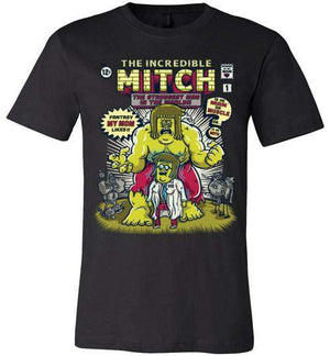 THE INCREDIBLE MITCH-Animation Shirts-CoD (Create Or Destroy) Designs|Threadiverse