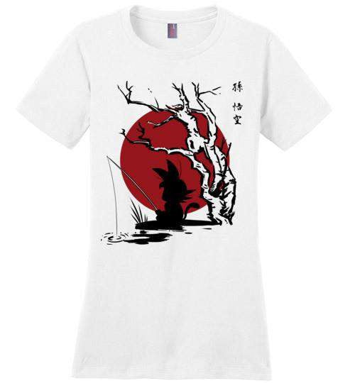 The Little Hero-Anime Women's Perfect Weight Shirts-Ddjvigo|Threadiverse