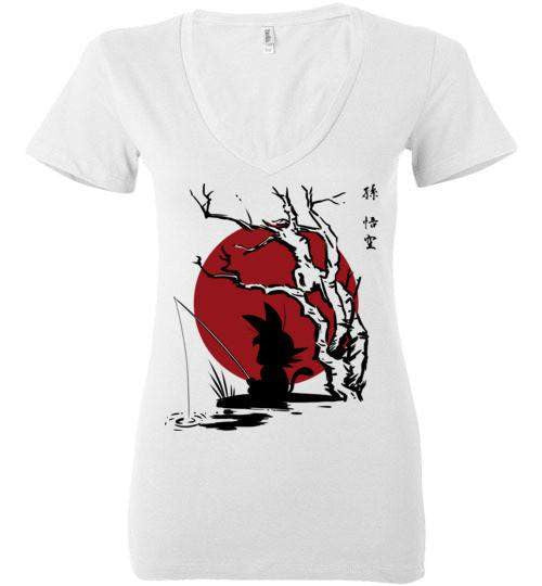 The Little Hero-Anime Women's V-Necks-Ddjvigo|Threadiverse
