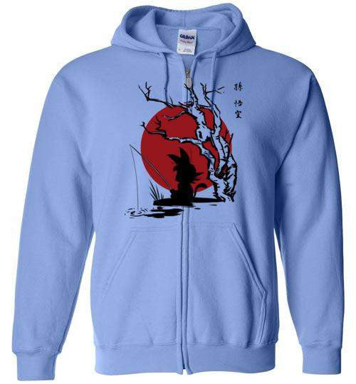 The Little Hero-Anime Zipper Hoodies-Ddjvigo|Threadiverse