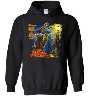 The Man Who Framed Me-Animation Hoodies-Punksthetic Designs|Threadiverse
