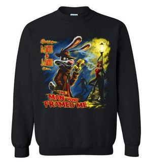 The Man Who Framed Me-Animation Sweatshirts-Punksthetic Designs|Threadiverse