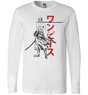 The Pirate Hunter-Anime Long Sleeves-Ddjvigo|Threadiverse