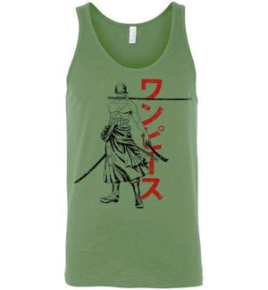 The Pirate Hunter-Anime Tank Tops-Ddjvigo|Threadiverse