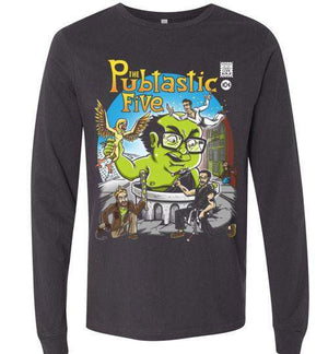 The Pubtastic Five-Pop Culture Long Sleeves-Punksthetic Designs|Threadiverse
