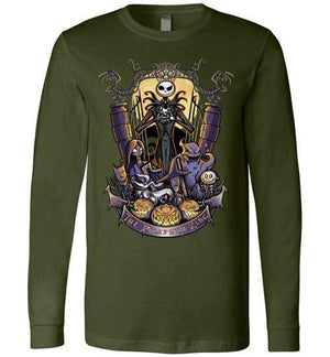 The Pumpkin King-Animation Long Sleeves-TrulyEpic|Threadiverse