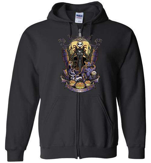 The Pumpkin King-Animation Hoodies-TrulyEpic|Threadiverse