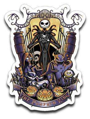 The Pumpkin King-Decals-TrulyEpic|Threadiverse