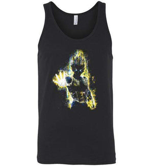 The Saiyan Prince-Anime Tank Tops-Barrett Biggers|Threadiverse