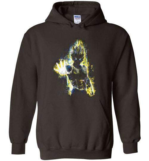 The Saiyan Prince-Anime Hoodies-Barrett Biggers|Threadiverse