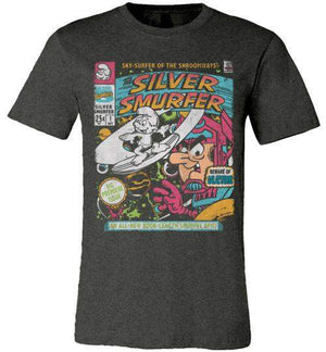 The Silver Smurfer-Comics Shirts-CoD (Create Or Destroy) Designs|Threadiverse
