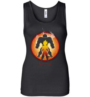 The Super Saiyan-Anime Women's Tank Tops-Ddjvigo|Threadiverse