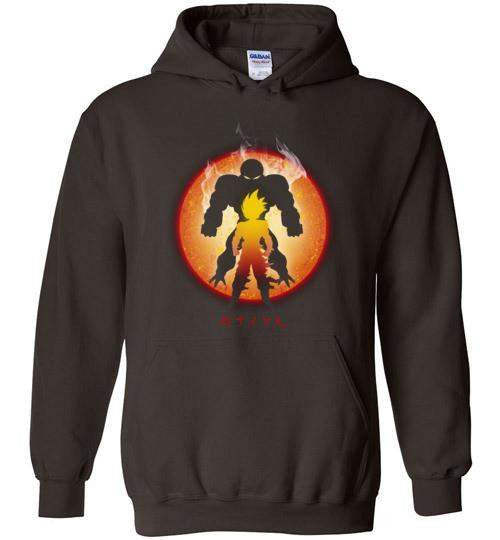 The Super Saiyan-Anime Zipper Hoodies-Ddjvigo|Threadiverse