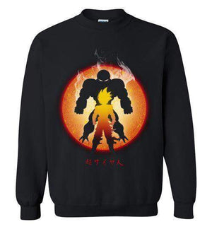 The Super Saiyan-Anime Sweatshirts-Ddjvigo|Threadiverse