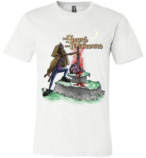 The Sword And Michonne-Pop Culture Shirts-Punksthetic Designs|Threadiverse