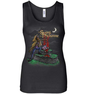 The Sword And Michonne-Pop Culture Women's Tank Tops-Punksthetic Designs|Threadiverse