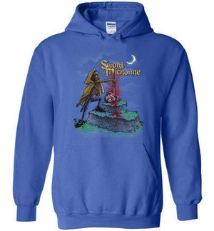 The Sword And Michonne-Pop Culture Hoodies-Punksthetic Designs|Threadiverse