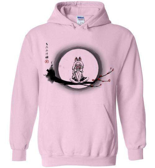 The Wolf Girl-Anime Hoodies-DDjvigo|Threadiverse