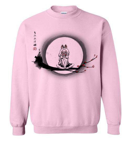 The Wolf Girl-Anime Sweatshirts-DDjvigo|Threadiverse