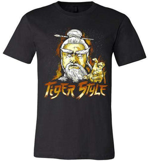 Tiger Style-Pop Culture Shirts-CoD (Create Or Destroy) Designs|Threadiverse