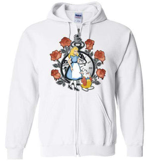 Time For Wonderland-Animation Hoodies-Kempo24|Threadiverse