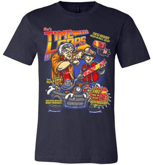 Time Loops-Pop Culture Shirts-Punksthetic Designs|Threadiverse