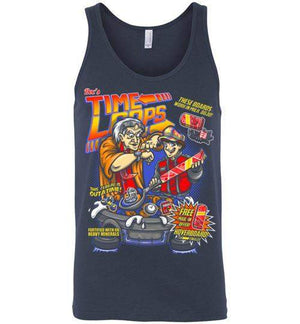 Time Loops-Pop Culture Tank Tops-Punksthetic Designs|Threadiverse