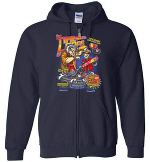Time Loops-Pop Culture Zipper Hoodies-Punksthetic Designs|Threadiverse