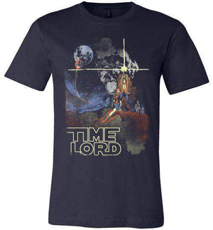 Time Lord-Pop Culture Shirts-Creative Outpouring|Threadiverse