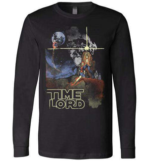 Time Lord-Pop Culture Long Sleeves-Creative Outpouring|Threadiverse