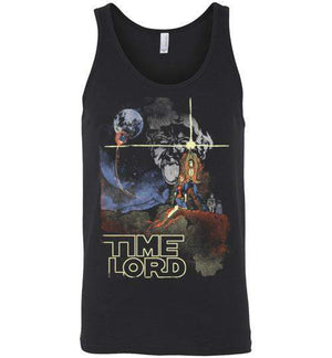 Time Lord-Pop Culture Tank Tops-Creative Outpouring|Threadiverse