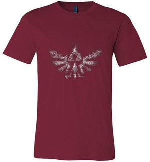 Triforce Smoke-Gaming Shirts-Donnie Illustrateur|Threadiverse