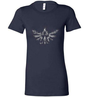 Triforce Smoke-Anime Women's Shirts-Donnie Illustrateur|Threadiverse