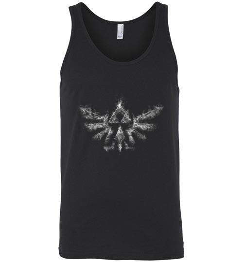 Triforce Smoke-Gaming Tank Tops-Donnie Illustrateur|Threadiverse