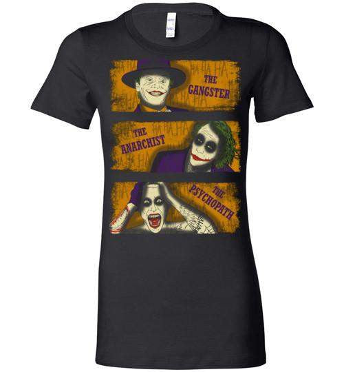 Types Of Clowns-Comics Women's Shirts-Ddjvigo|Threadiverse
